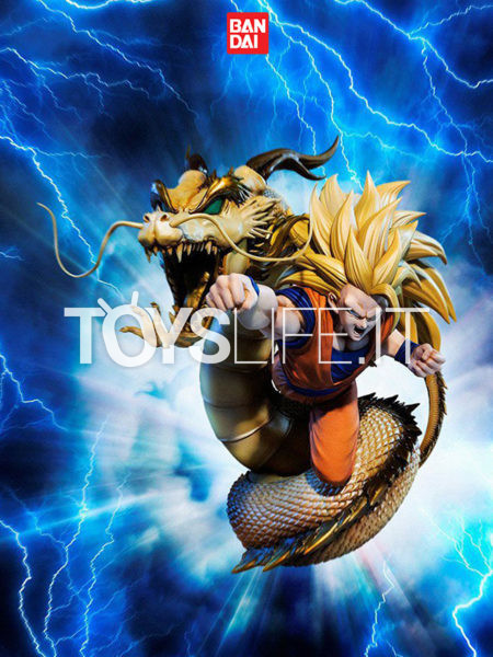 Bandai Dragonball Z Super Saiyan 3 Son Goku Extra Battle Figuarts Zero