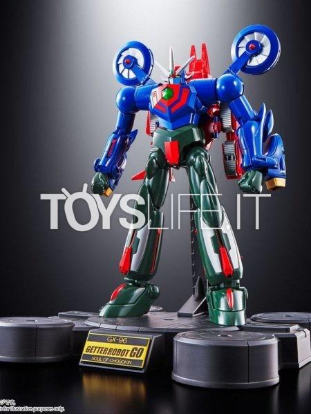 Bandai Getter Robot Go Getter Robot Go Soul of Chogokin GX-96 Diecast Figure