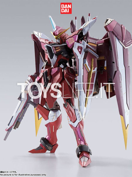 Bandai Mobile Suit Gundam Seed Justice Gundam Metal Build Diecast Figure