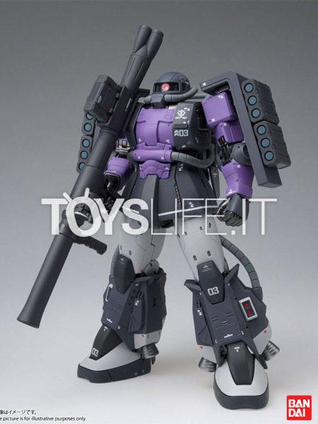 Bandai Mobile Suit Gundam Zaku II GFF MS-06R-1A High Mobility Type Figure