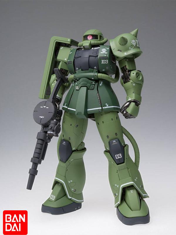 Bandai Mobile Suit Gundam The Origin GFFMC MS-06C Zaku II Type C Metal Composite