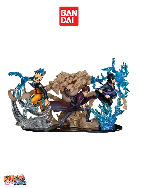 Bandai Naruto Shippuden Kizuna Relation Naruto Uzumaki/Sasuke Uchiha/Gaara Figuarts Zero