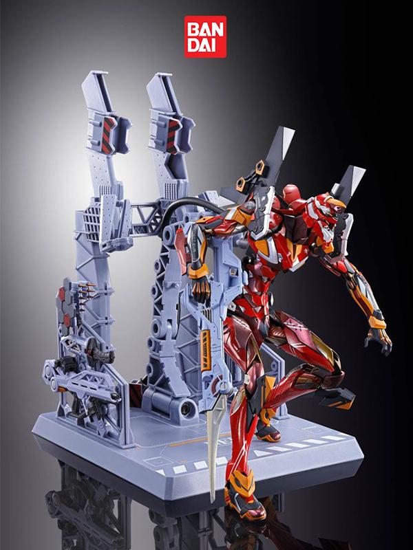 Bandai Neon Genesis Evangelion EVA-02 Production Model EVA 2020 Metal Build Figure