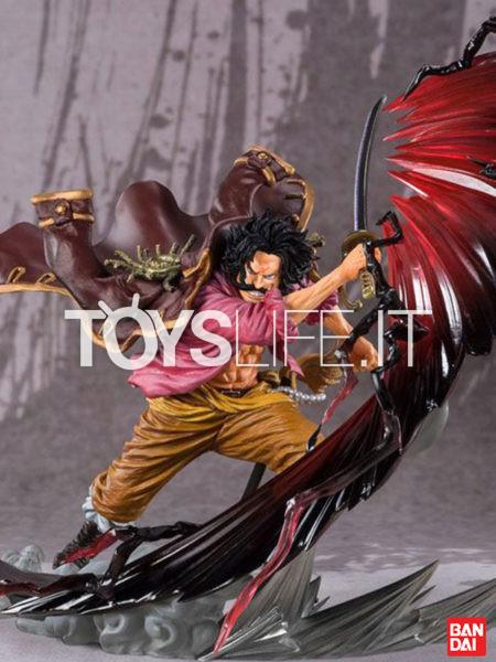 Bandai One Piece Gol D. Roger Kamusari Figuarts Zero Pvc Statue