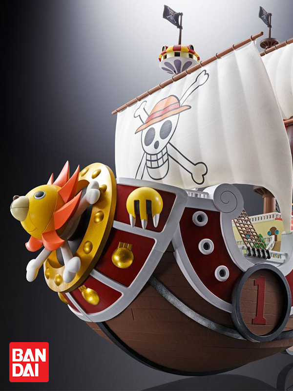 Bandai One Piece housand Sunny Chogokin Diecast Model 38 cm