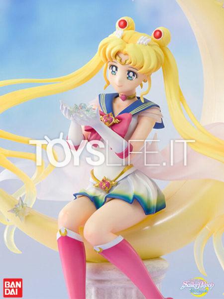 Bandai Sailor Moon Eternal Super Sailor Moon Bright Moon Figuarts Zero Chouette Pvc Statue