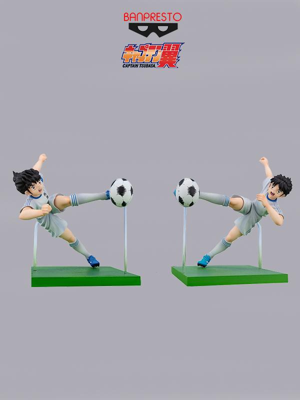 Banpresto Captain Tsubasa Tsubasa/Misaki Twin Shot Pvc Figure