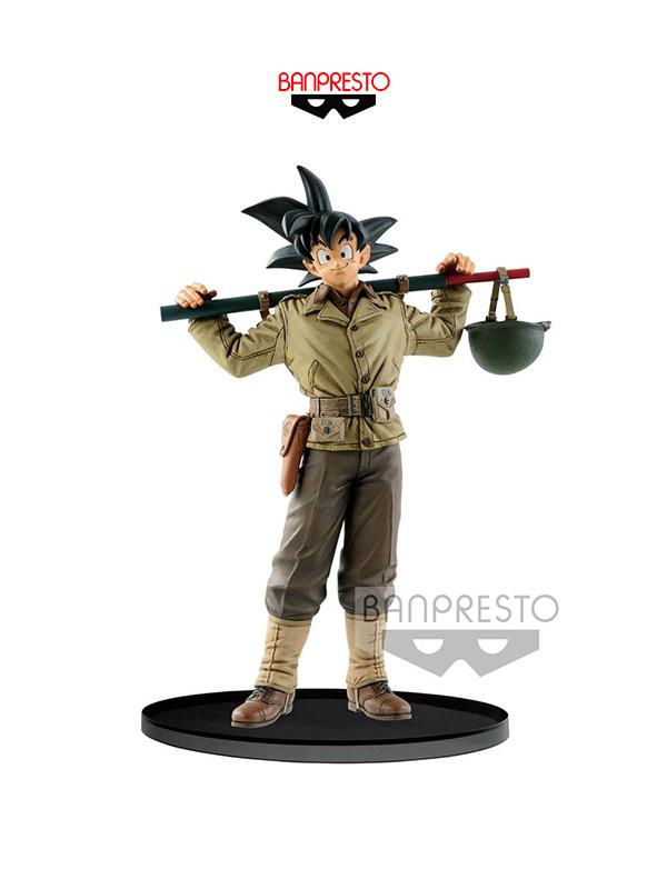 Banpresto Dragonball Z BWFC Son Goku Normal Color Pvc Figure