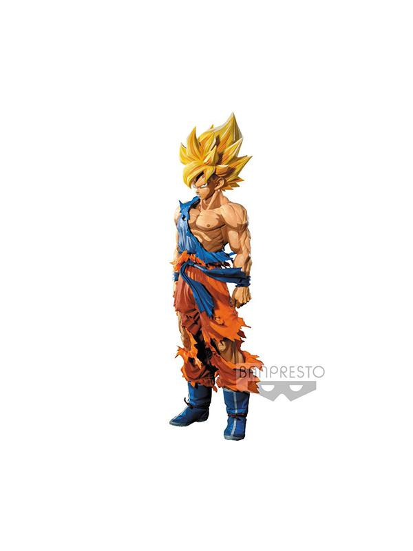 Banpresto Dragonball Z Goku Super Sayan Manga Dimensions Grandista Figure
