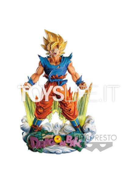 Banpresto Dragonball Z Son Goku The Brush Master Stars Supreme Diorama
