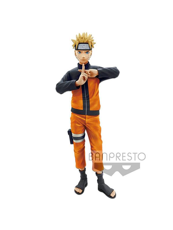 Banpresto Naruto Shippuden Naruto Uzumaki Grandista Nero Figure