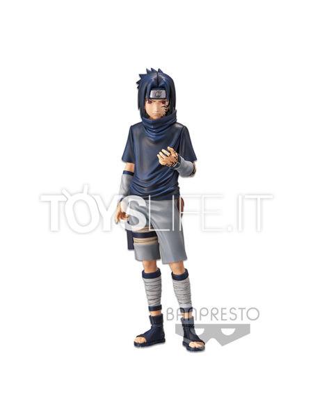 Banpresto Naruto Shippuden Sasuke Uchiha  #2 Grandista Nero Figure