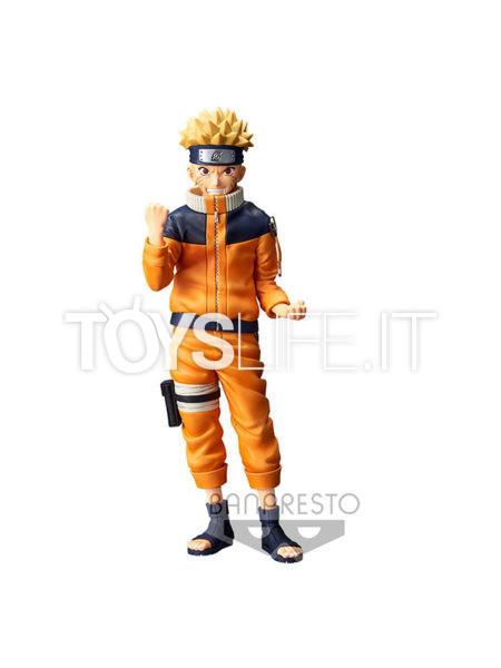 Banpresto Naruto Shippuden Uzumaki Naruto #2 Grandista Nero Figure