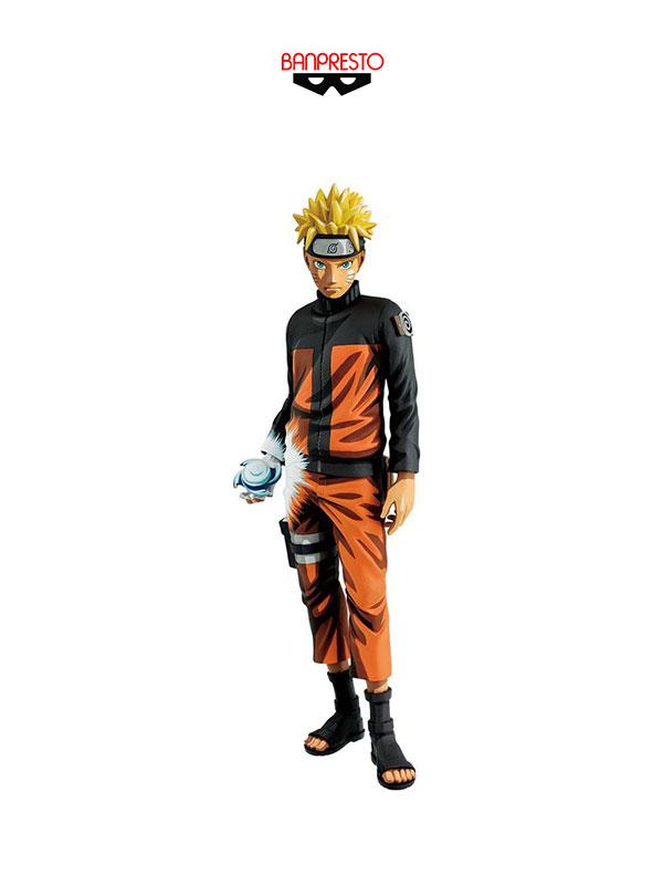 Banpresto Naruto Shippuden  Uzumaki Naruto Shinobi Relations Manga Dimensions Grandista Figure