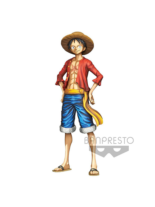 Banpresto One Piece Monkey D. Luffy Grandista Manga Dimensions Pvc Statue