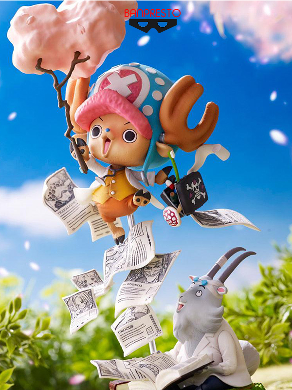 Banpresto One Piece Tony Tony Chopper Challenge from GReeeeN Special Collaboration Statue