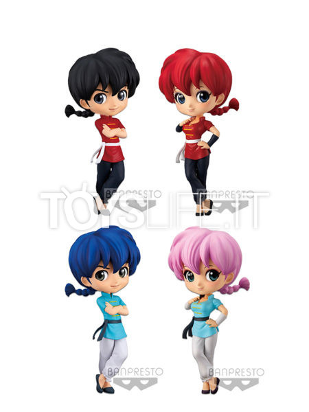 Banpresto Ranma 1/2 Ranma Saotome Male/Female Q-Posket Version A/B Figure