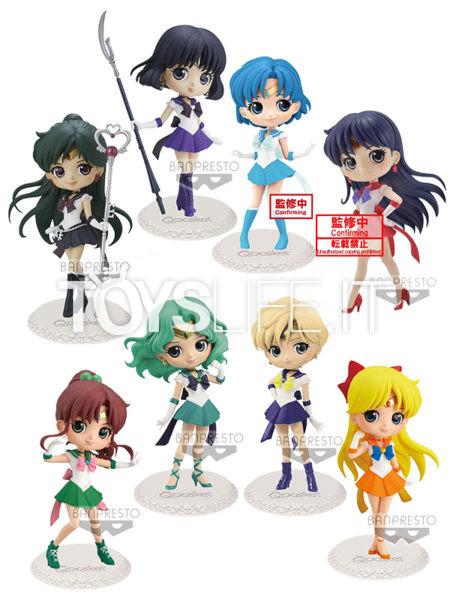 Banpresto Sailor Moon Eternal Sailor Pluto/ Saturn/ Mercury/ Mars/ Jupiter/ Neptune/ Venus/ Uranus Q-Posket Figure