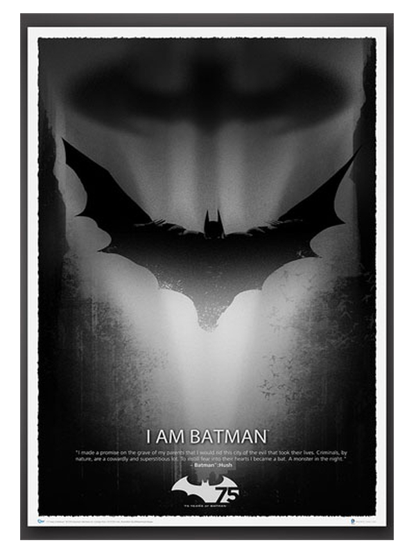 DC Batman Art Print 75th Anniversary