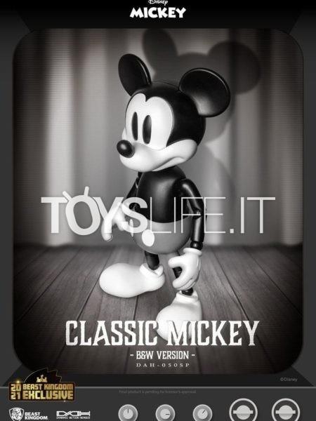 Beast Kingdom Disney Mickey Classic Black & White Dynamic 8ction Heroes 1:9 Figure