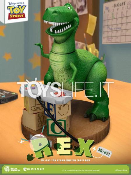 Beast Kingdom Toys Mastercraft Disney Toy Story Rex Statue