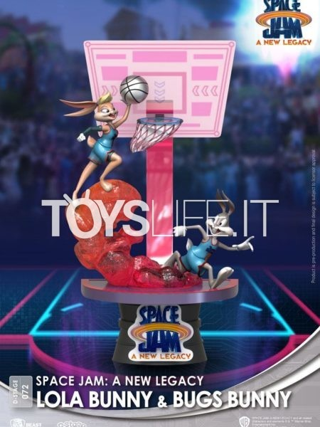 Beast Kingdom Space Jam 2 A New Legacy Lola Bunny & Bugs Bunny Pvc Diorama