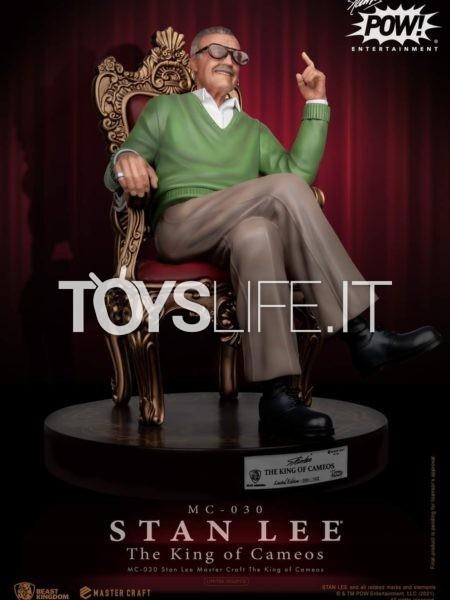 Beast Kingdom Marvel Stan Lee Mastercraft 1:4 Statue
