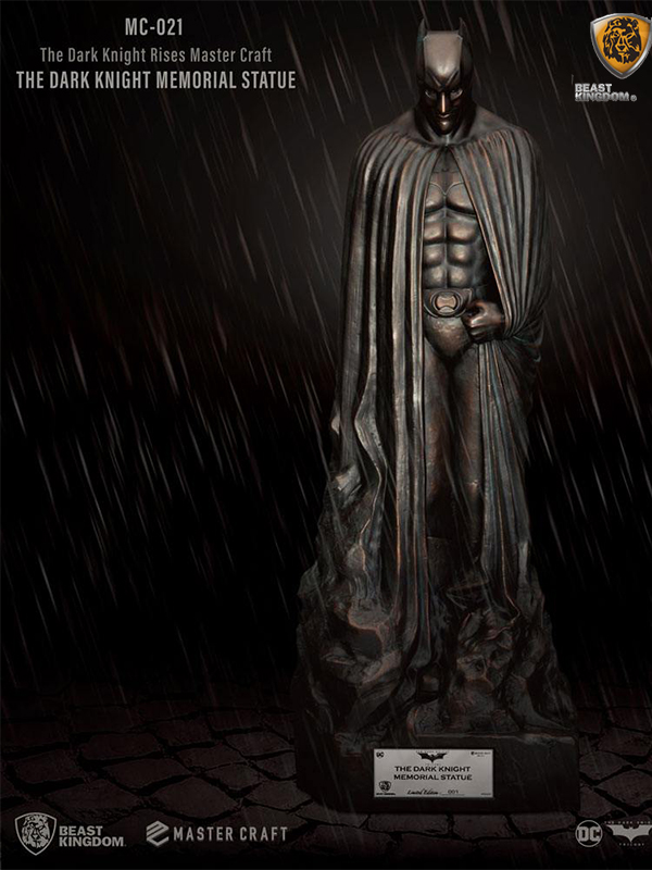 Beast Kingdom DC The Dark Knight Rises Mastercraft Dark Knight Memorial Statue
