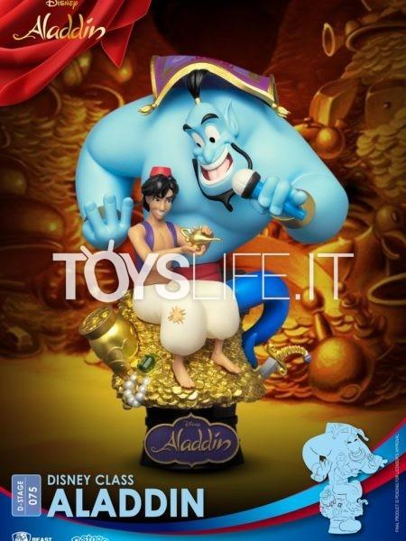Beast Kingdom Toys Disney Aladdin Pvc Diorama