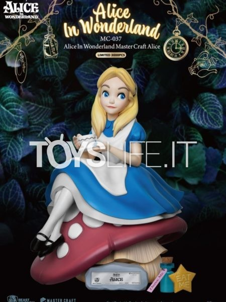 Beast Kingdom Toys Disney Alice In Wonderland Alice Mastercraft Statue