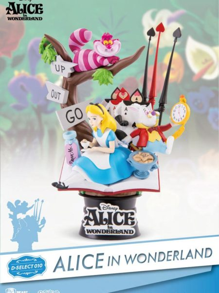 Beast Kingdom Toys Disney Alice In Wonderland Pvc Diorama