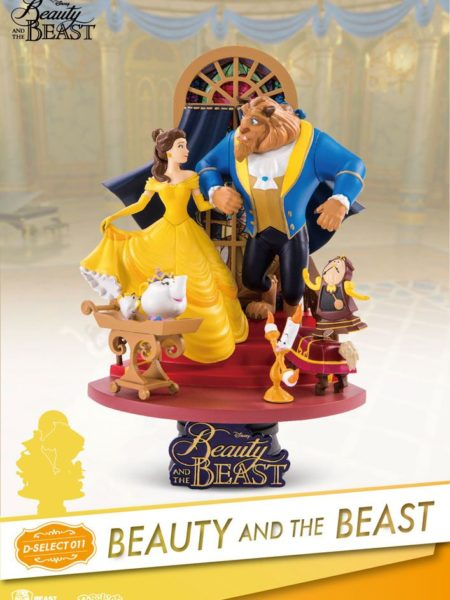 Beast Kingdom Toys Disney The Beauty And The Beast Pvc Diorama
