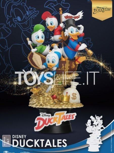 Beast Kingdom Toys Disney Ducktales Pvc Diorama