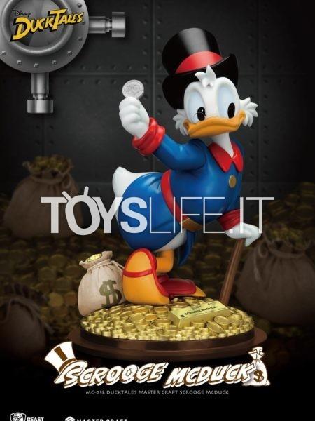Beast Kingdom Toys Disney Ducktales Scrooge McDuck Statue