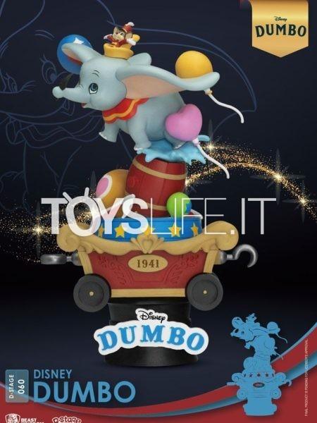 Beast Kingdom Toys Disney Dumbo Pvc Diorama