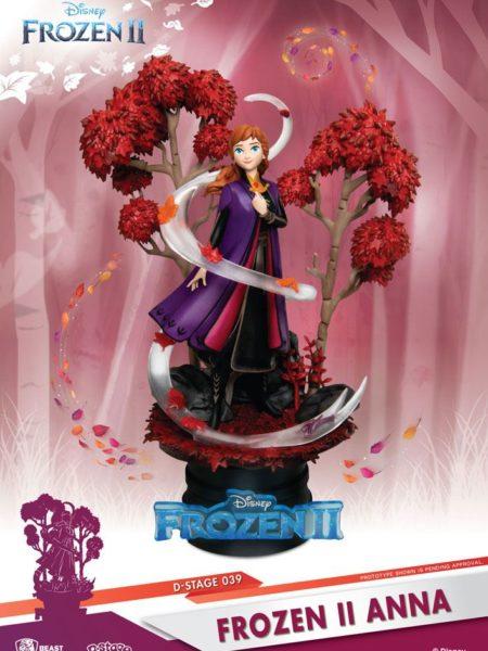 Beast Kingdom Toys Disney Frozen 2 Anna Pvc Diorama