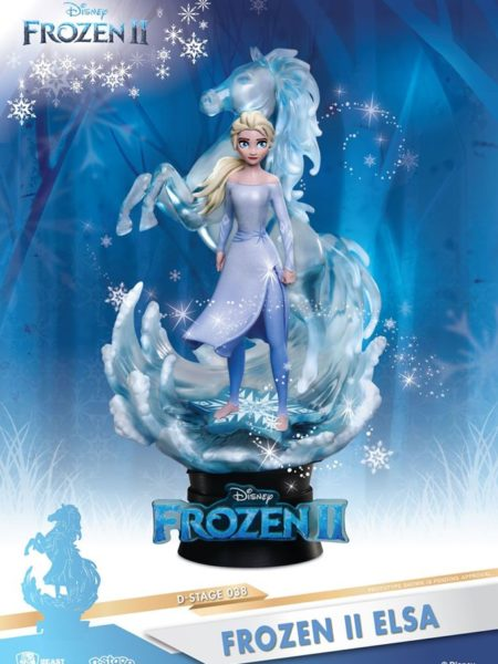 Beast Kingdom Toys Disney Frozen 2 Elsa Pvc Diorama