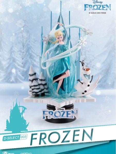 Beast Kingdom Toys Disney Frozen Elsa & Olaf Diorama