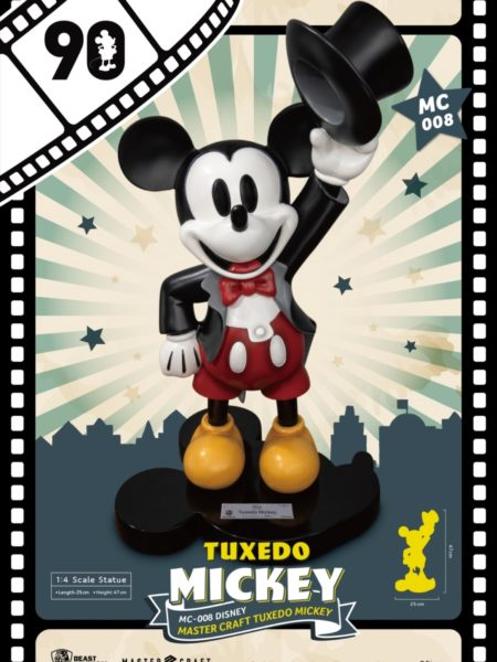Beast Kingdom Toys Disney Tuxedo Mickey 1:4 90th Anniversary Statue