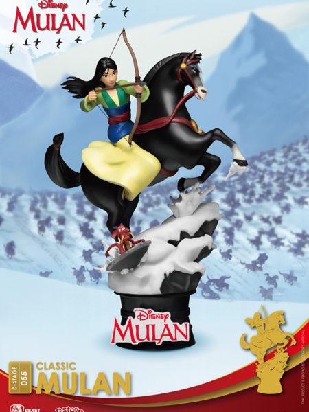Beast Kingdom Toys Disney Mulan Pvc Diorama