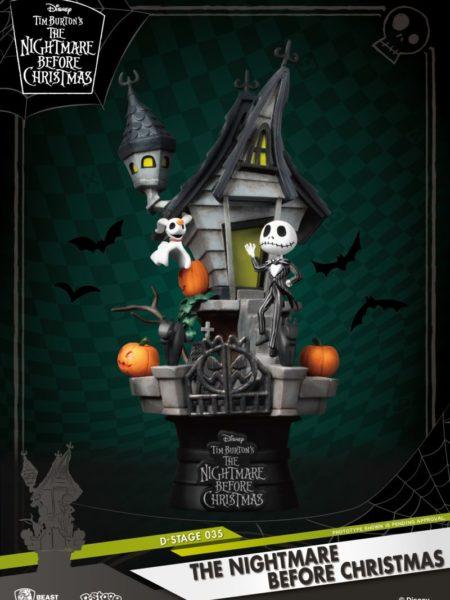 Beast Kingdom Toys Disney The Nightmare Before Christmas PVC Diorama
