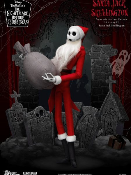 Beast Kingdom Toys Disney Nightmare Before Christmas Santa Jack DAH 1:9 Figure
