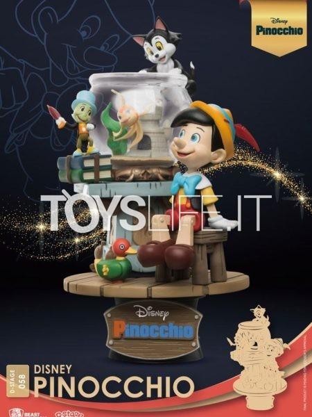 Beast Kingdom Toys Disney Pinocchio Pvc Diorama