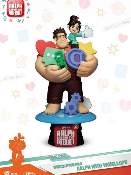 Beast Kingdom Toys Disney Ralph Breaks Internet Ralph & Vanellope Pvc Diorama