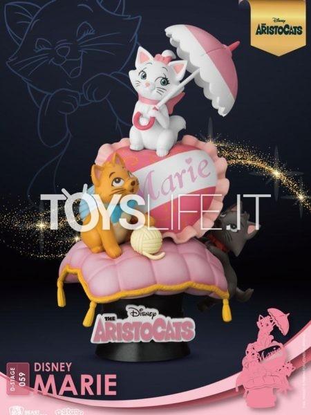 Beast Kingdom Toys Disney The Aristocats Pvc Diorama