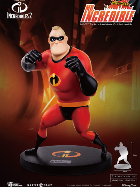 Beast Kingdom Toys Disney The Incredibles 2 Mr. Incredible Statue