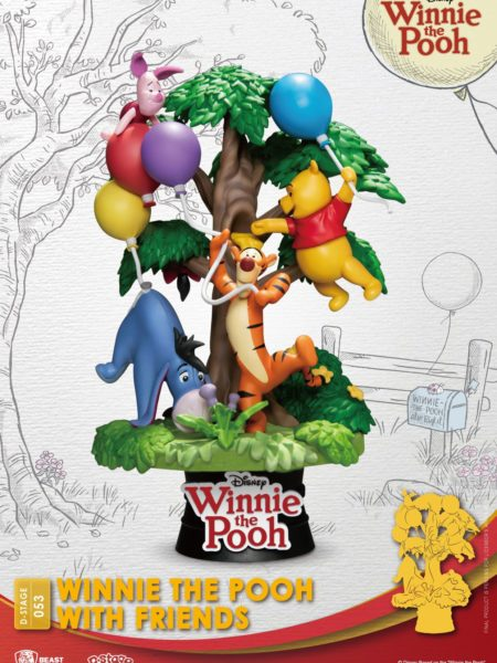 Beast Kingdom Toys Disney Winnie The Pooh Winnie And Friends Pvc Diorama