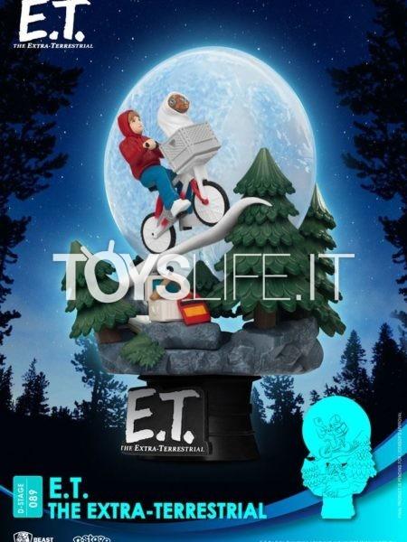 Beast Kingdom Toys E.T. The Extraterrestrial Iconic Scene Movie Scene Pvc Diorama