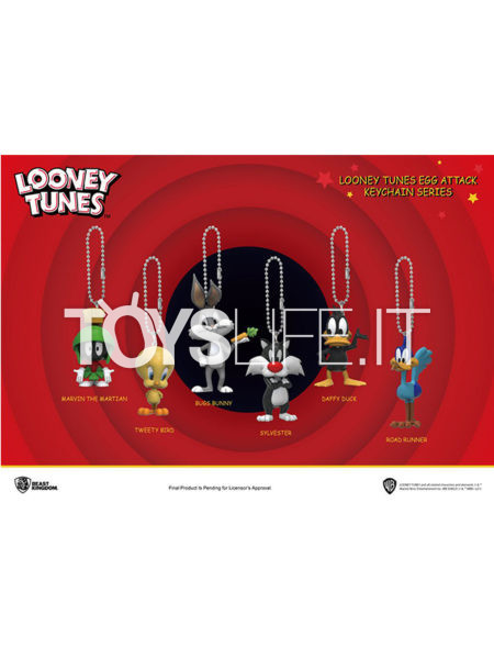 Beast Kingdom Toys Looney Tunes Keychain Series