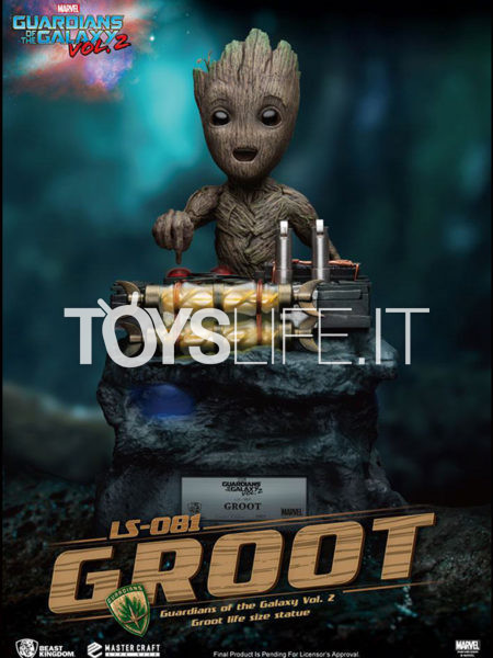 Beast Kingdom Marvel Guardians of the Galaxy Vol. 2 Groot 1:1 Lifesize Statue
